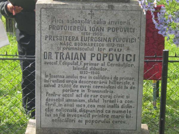 4-Traian Popovici-fost primar Cernauti-mormint-foto lyberty-com