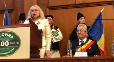 Elena Nadris la Suceava Ziua Bucovinei 1-28 nov 2017