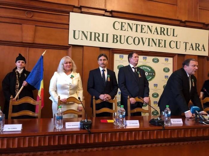 Elena Nadris la Suceava Ziua Bucovinei-28 nov 2017