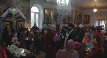 Eugen Doga filmari Flacara Film in satul Cenac Cimislia-28 nov 2017IMG_9076