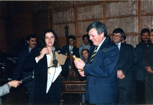 Radio Moldova-Luminita Dumbraveanu-director Alexandru Dorogan-30 oct 1996