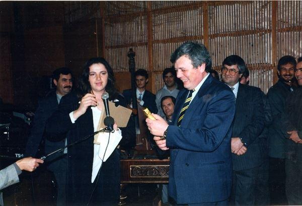 Radio Moldova-Luminita Dumbraveanu-director Alexandru Dorogan-30 oct 1996