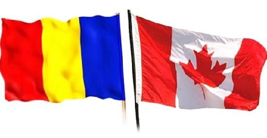 Romania Canada drapele-fara vize