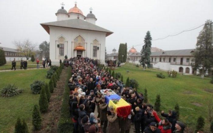 Stela Popescu funeralii Manastirea Cernica-25 nov 2017
