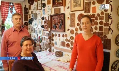 1-Familia Pallady Bobeica din Moldova in Franta-TVM-27 dec 2017