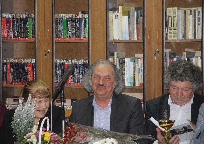 1-Vasile Romanciuc la aniversraea 70-Biblioteca Ion Creanga-17 dec 2017