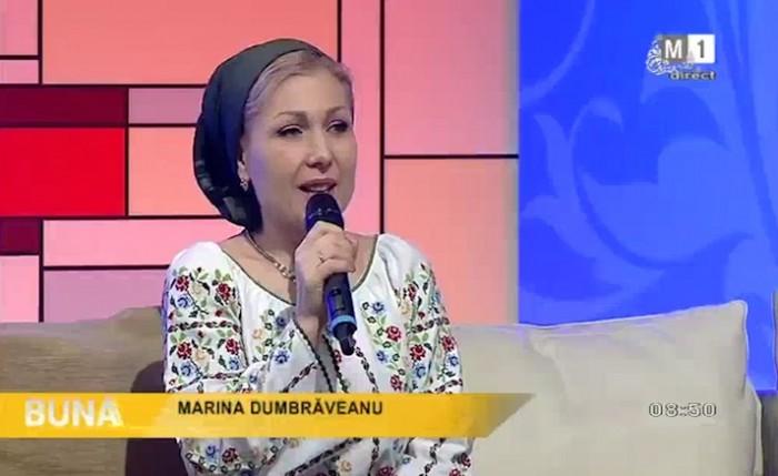 3-Marina Dumbraveanu-interviu si premiere la TVM-23 dec 2017