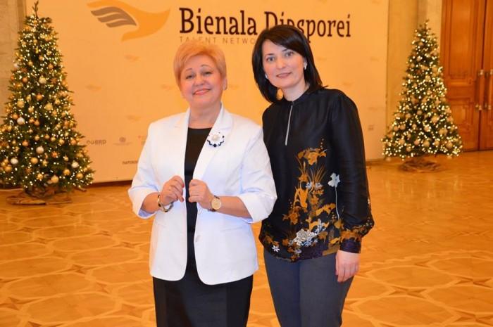 Bienala Diasporei Moldovei 2017-Ala Mindicanu si Olga Coptu-26 dec 2017