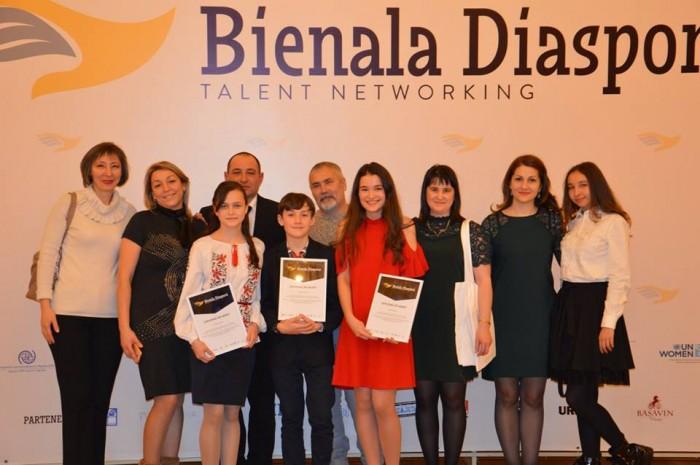 Bienala Diasporei Moldovei 2017-laureatii copii 2-26 dec 2017