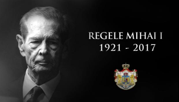 Regele Mihai I al Romaniei funeralii 16 dec 2017-foto TVR-1