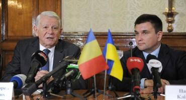 Cernauti-vizita ministrul MAE Teodor Melescanu si minstrul Pavlo Klimkin-11 ian 201