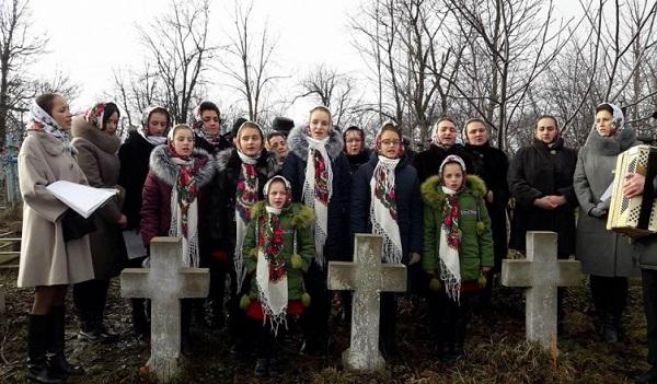 Martiri romani pomeniti in satul-Mahala-Cernauti-4 febr 2018
