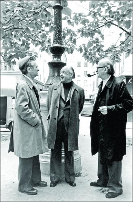 Emil Cioran-Eugen Ionesco-Mircea Eliade