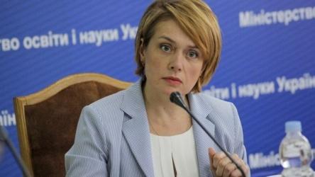 Lilia Grinevici-ministrul invattamintului Ucraina