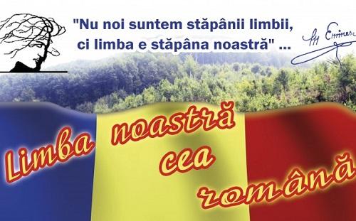 Limba Romana a noastra stapina-citat Eminescu