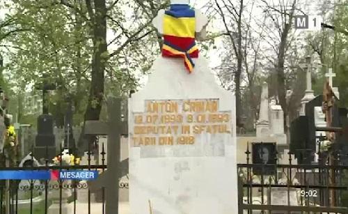 Blajini-Cimitir Central-Anton Crihan-TVM-16 apr 2018