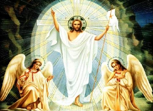 Hristos a Inviat-icoana