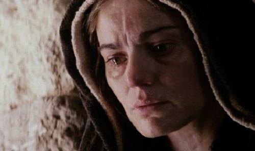 Patimile Lui Hristos film SUA-2004 Fecioara Maria- maia Morgenstern